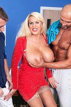 Shannon Blue's Super-wild Big-tit Anal Threesome